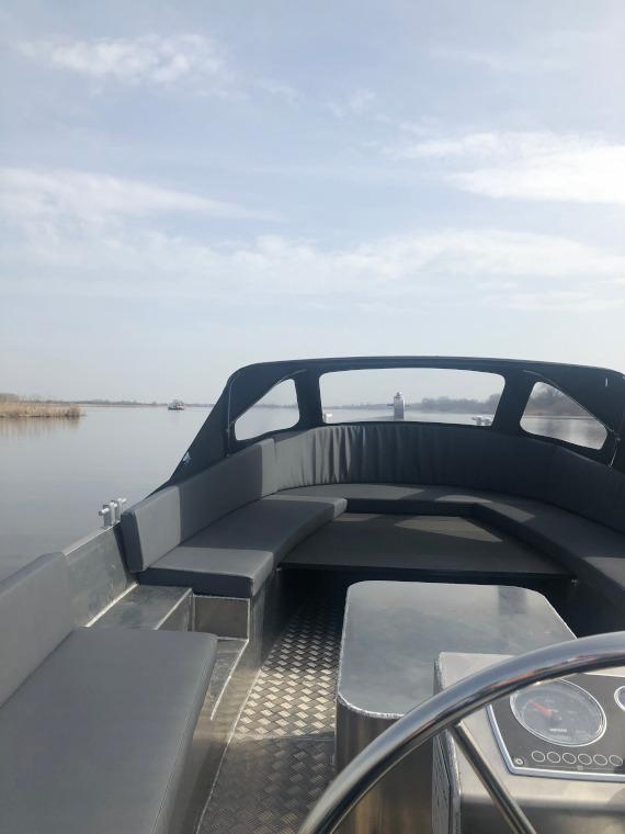 Classic 660 reddingssloep stuurzicht aluminium boten en sloepen