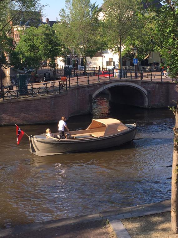 Classic 660 reddingssloep zij aanzicht aluminium boten en sloepen