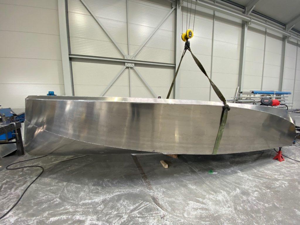 Reallife 650 aluminium boten zij aanzicht