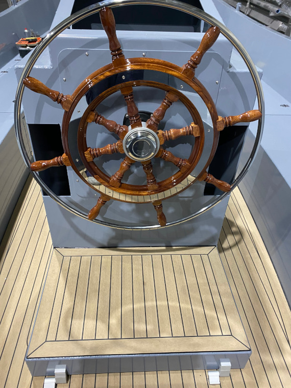 Rondvaartboot stuur aluminium boten en sloepen