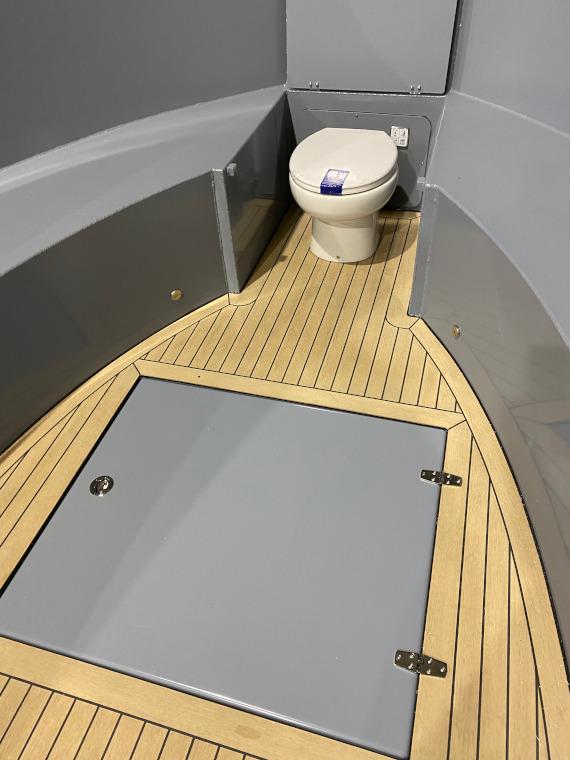 Rondvaartboot wc aluminium boten en sloepen