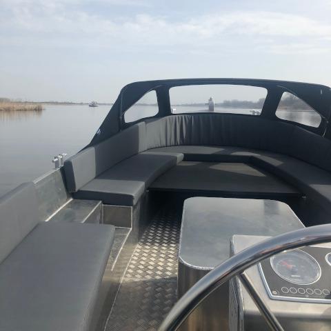 Classic 660 reddingssloep zonnedek aluminium boten en sloepen